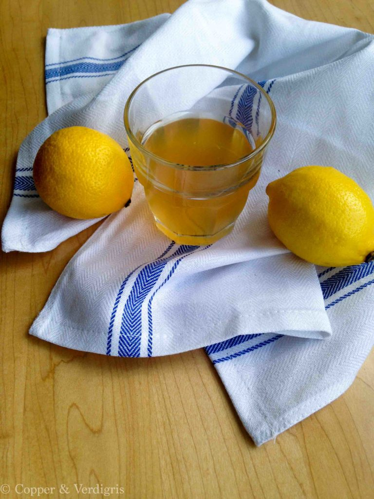 lavender and earl grey arnold palmer with lemons