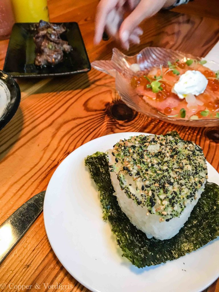 Lox and onigiri 2