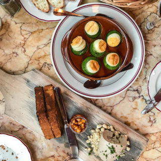 A Dinner Date at Le Diplomate