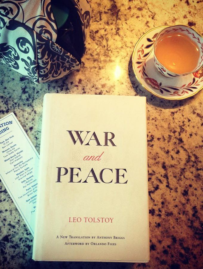 war and peace with tea